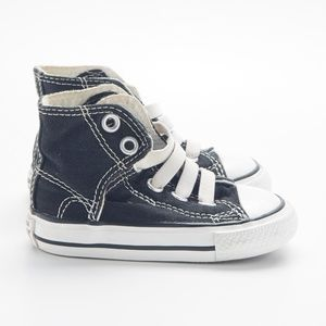 Converse Black and White Toddler High Tops
